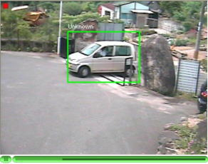 人以外の車、動物には反応しない防犯カメラの画像認識技術
